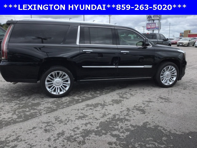 Pre-Owned 2016 Cadillac Escalade ESV Platinum Edition